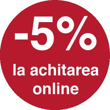 -5% la achitarea online