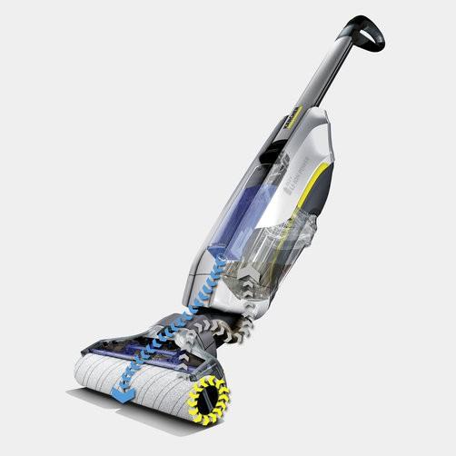 Функция самоочистки благодаря автоматической очистке роликов от грязи