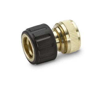 """Латунный коннектор с аквастопом 3/4"""" для шлангов Karcher 2.645-018.0"""
