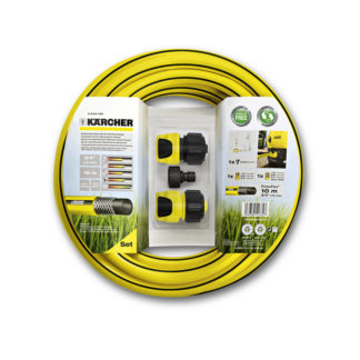 Комплект для подключения минимойки: шланг 10 м + 2 коннектора