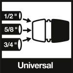 Racord universal Karcher Premium pentru furtun