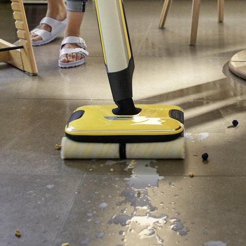 All-in-one: Îndepărtează toate tipurile de murdărie uscată și umedă într-o singură etapă