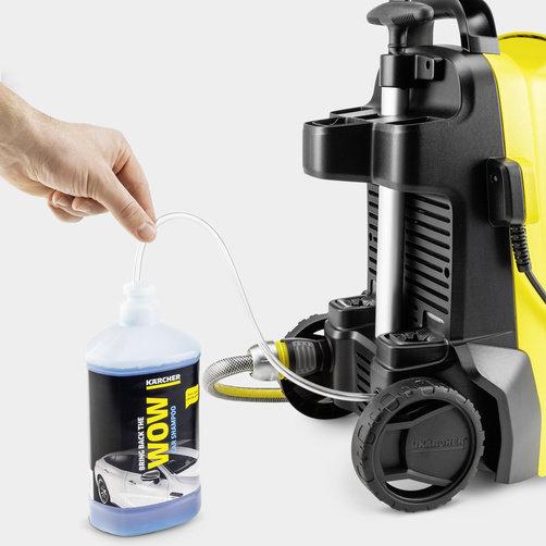 Используйте моющее средство